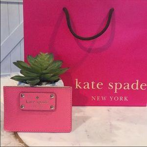 Sale! Kate spade card holder
